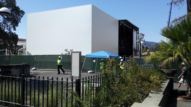 Apple построит таинственное здание специально к презентации 9 сентября