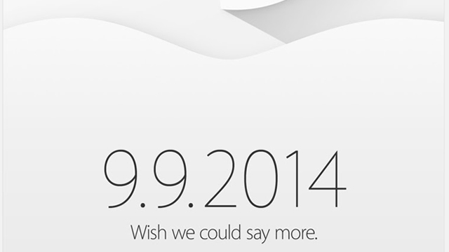 Apple разослала приглашения на презентацию 9 сентября