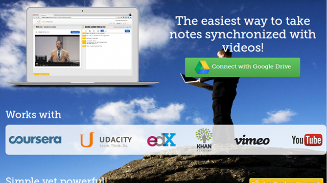 Сайт дня: Videonot.es - лучший инструмент для конспектирования лекций