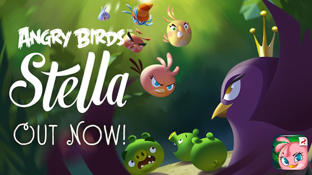 Angry Birds Stella для iPhone и iPad — новая игра от Rovio доступна в App Store