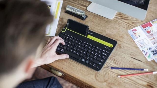 Logitech K480 – беспроводная клавиатура для нескольких устройств