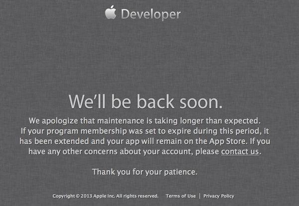 Apple Developer Center подвергся атаке хакеров