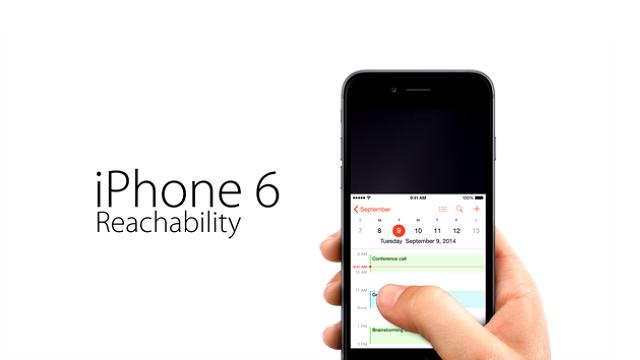 Reachability или как Apple предлагает пользоваться iPhone 6 Plus одной рукой