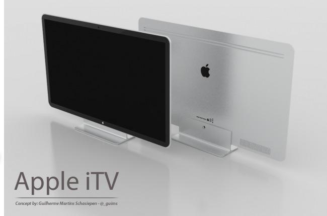 Cвежая порция слухов о телевизорах Apple.