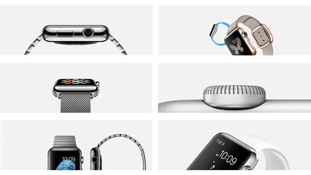 Подробно про Apple Watch: 3 коллекции, 6 материалов, 18 ремешков, 2 размера, 11 заставок!