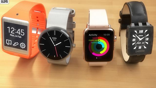 Сравнение Apple Watch с конкурентами. Галерея фотографий