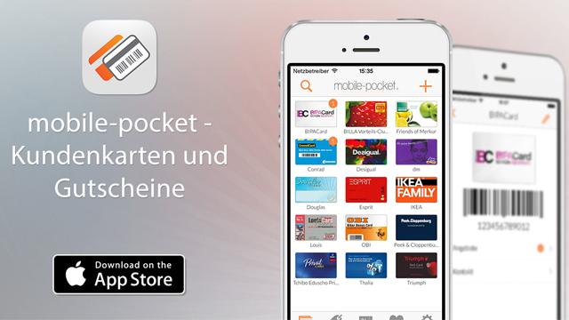 mobile-pocket — все ваши дисконтные карты в одном надёжном месте