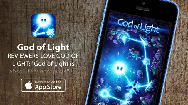 Apple назвала God of Light игрой недели и сделала ее бесплатной
