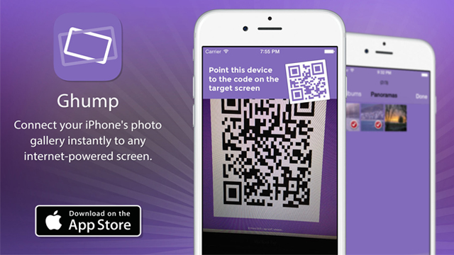 Ghump позволяет просматривать фотографии с iPhone на любом устройстве