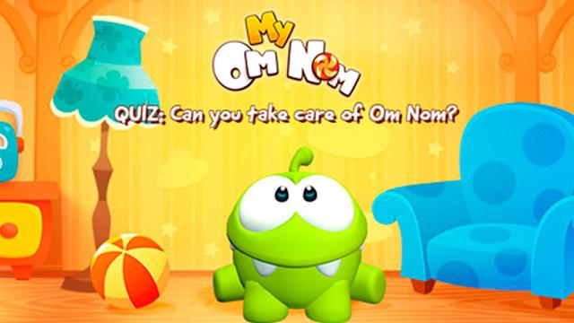 ZeptoLab выпустила новую игру об Ам Няме — симулятор домашнего питомца My Om Nom