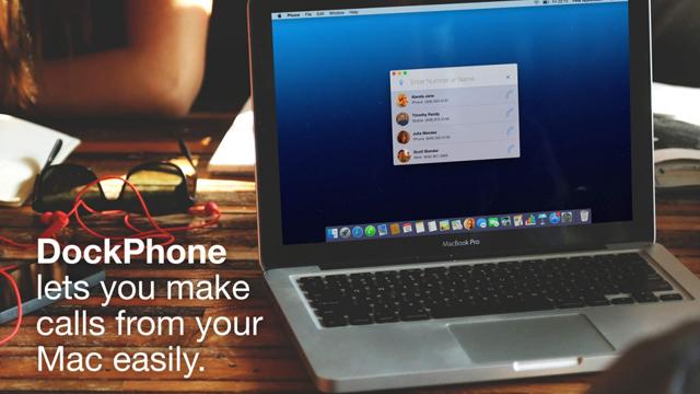 DockPhone — удобное приложение для звонков по телефону с Mac