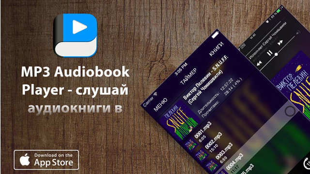 MP3 Audiobook Player — свои аудиокниги на iPhone и iPad