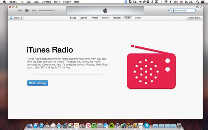 Бета-версия iTunes 11.1 с поддержкой iTunes Radio