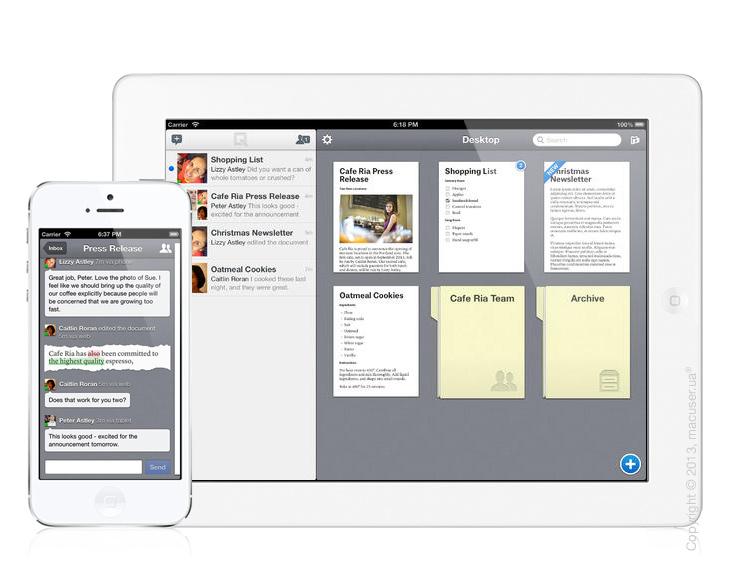 Quip – современный текстовый редактор