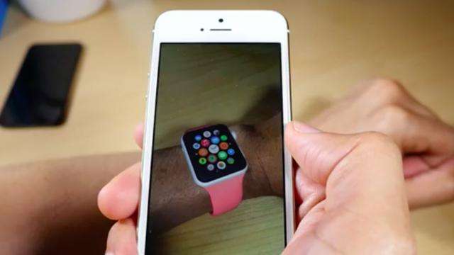 Примеряем Apple Watch уже сегодня с помощью приложения дополненной реальности