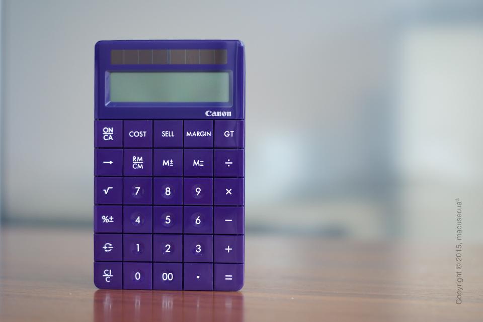 Canon X Mark 1 Purple – калькулятор нового поколения