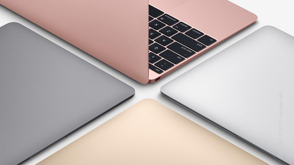 Обновление линейки MacBook 12 и MacBook Air 13