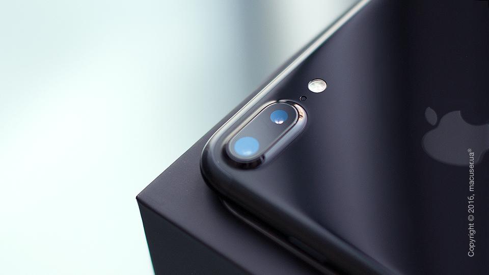 Обзор iPhone 7 Plus, Jet Black