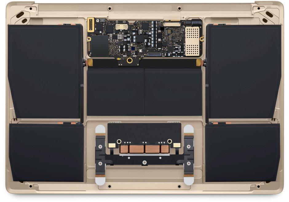 Характеристики MacBook 12