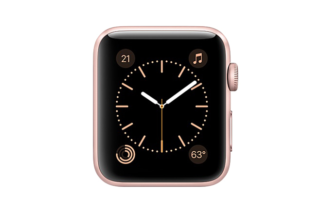 Apple Watch Series 2 42mm Rose Gold Aluminum