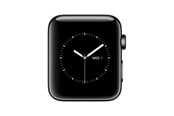 Apple Watch Series 2 38mm Space Black Stainless Steel Case