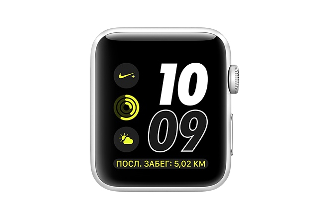 Apple Watch Nike+ 38mm Silver Aluminum Case