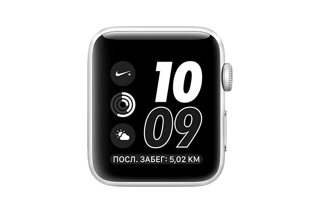Apple Watch Nike+ 42mm Silver Aluminum Case