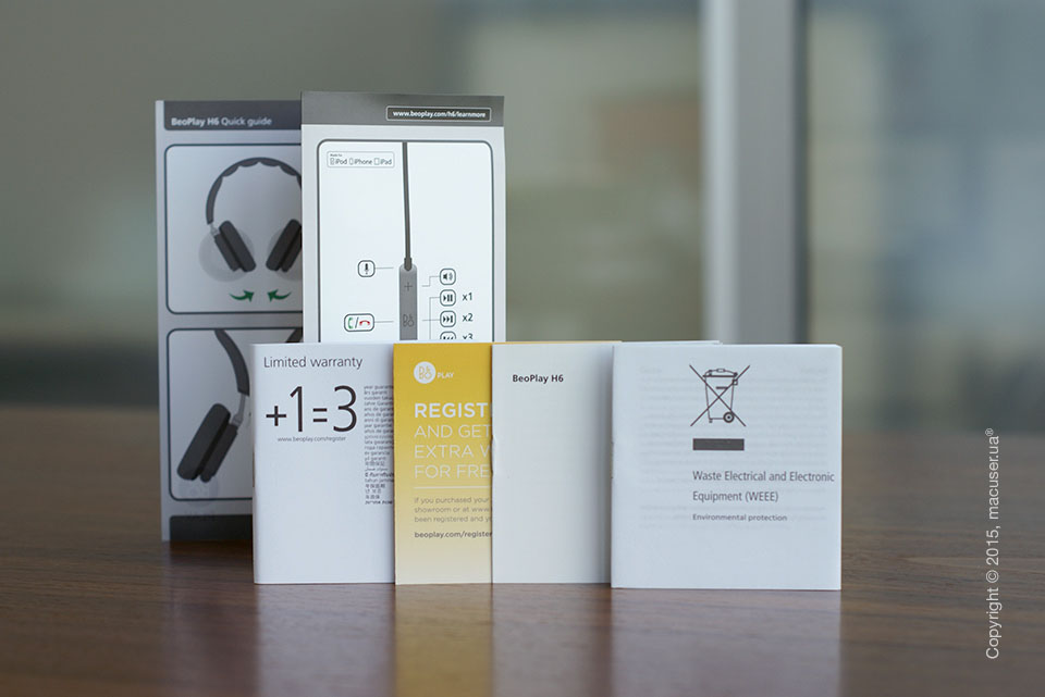 обзор наушников Bang & Olufsen BeoPlay H6 Natural