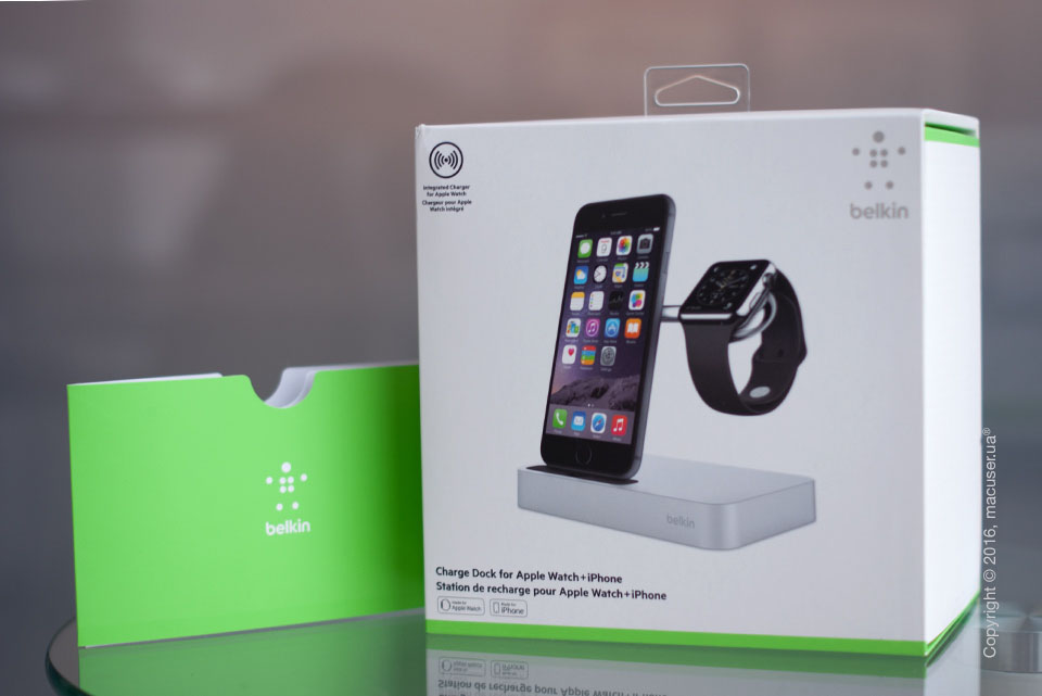 Обзор док-станции Belkin Valet Charge Dock for Apple Watch + iPhone