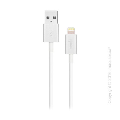 Moshi Lightning to USB Cable White (1M)