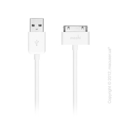 Кабель Moshi USB Cable White for iPad/iPod/iPhone