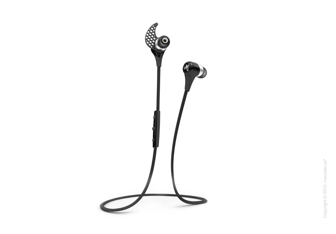 Наушники JayBird BlueBuds X Bluetooth Headphones, Midnight Black