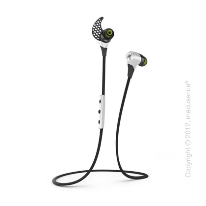 Наушники JayBird BlueBuds X Bluetooth Headphones, Storm White
