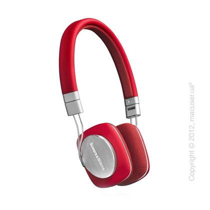Наушники Bowers & Wilkins P3 On-Ear Headphones, Red