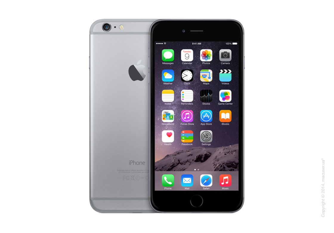 Apple iPhone 6 Plus 64GB, Space Gray