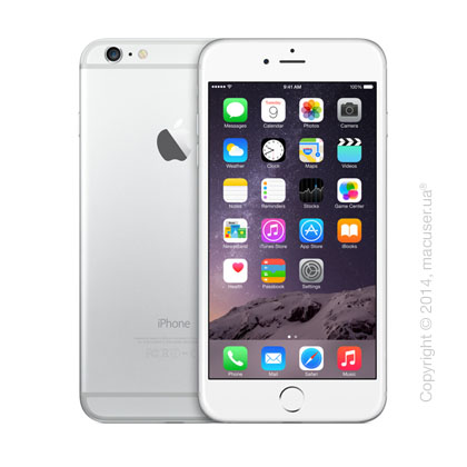 Apple iPhone 6 Plus 128GB, Silver