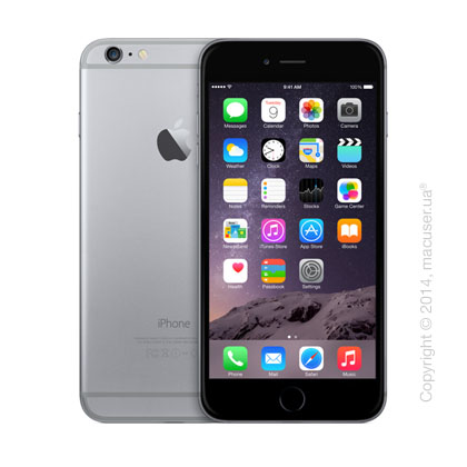 Apple iPhone 6 Plus 128GB, Space Gray