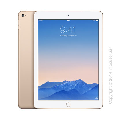 Apple iPad Air 2 Wi-Fi 128GB, Gold