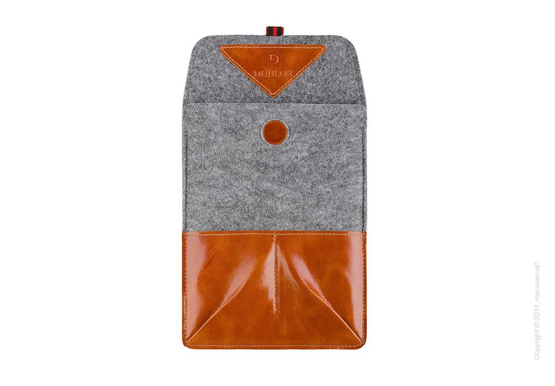 Чехол Dublon Leatherworks Military Light Brown для iPad Mini