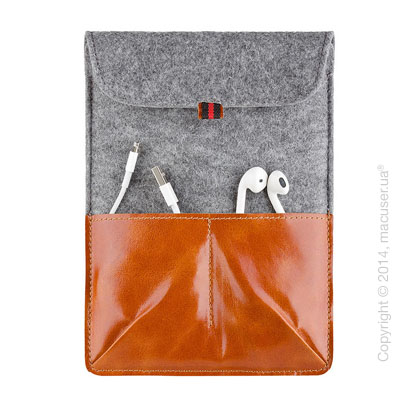 Чехол Dublon Leatherworks Military Light Brown для iPad Mini