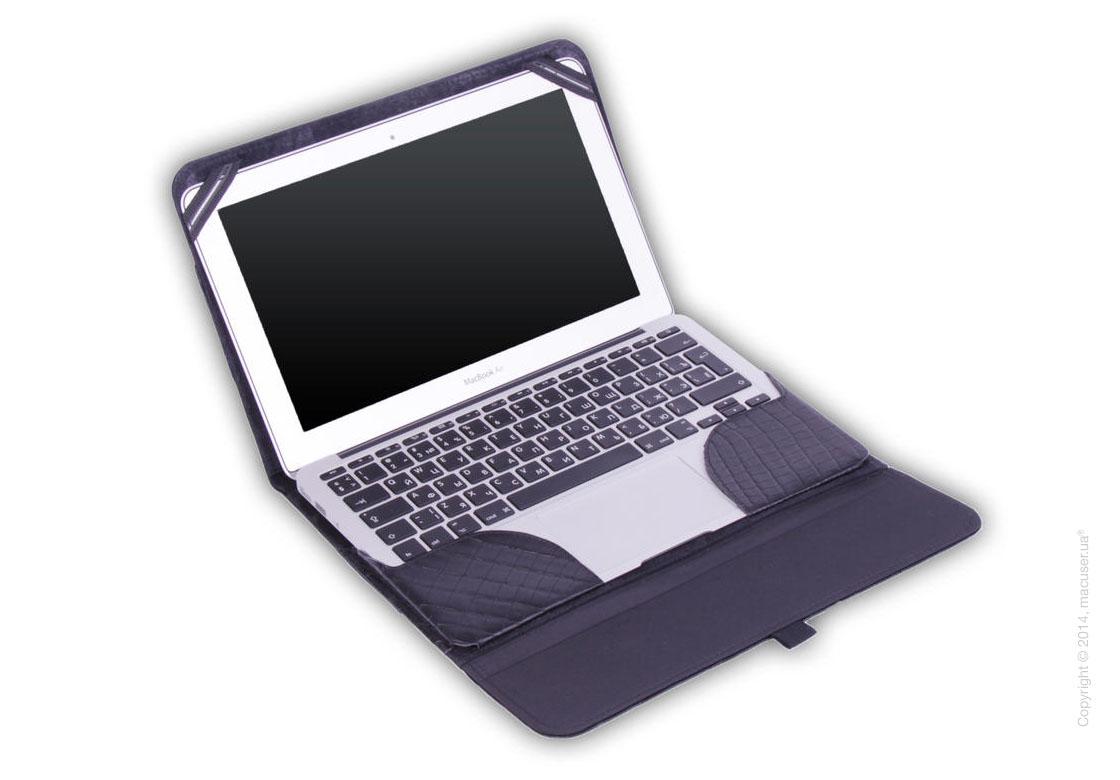 Чехол Dublon Leatherworks Startrooper Black Сroco для Apple MacBook Air 11