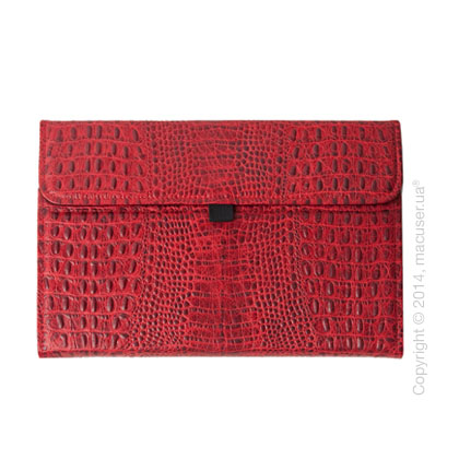 Чехол Dublon Leatherworks Startrooper Red Croco для Apple MacBook Air 11