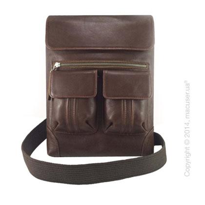 Сумка Dublon Leatherworks Urbantash Brown Executive для Apple MacBook Air 13