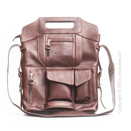 Сумка-трансформер Dublon Leatherworks Megapolis Brown 13