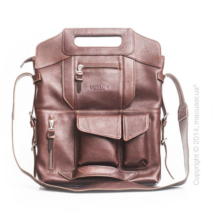 Сумка-трансформер Dublon Leatherworks Megapolis Brown 13