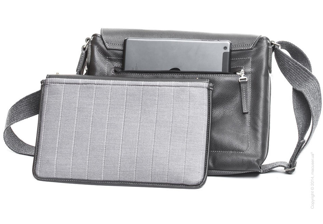 Сумка Dublon Leatherworks Urbantash Duo Gray для Apple MacBook 11
