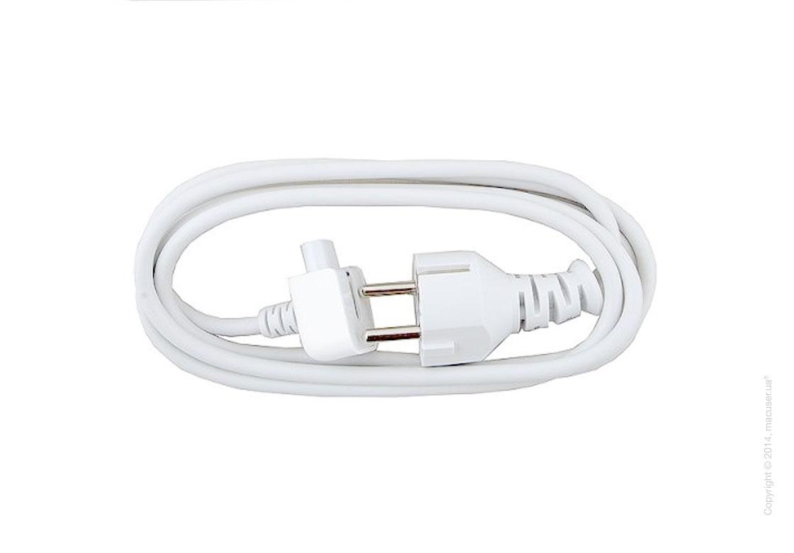 Кабель питания Евро для зарядного устройства Apple MacBook Pro/Air