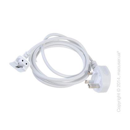 Кабель питания UK/Europe - Europe/UK для зарядного устройства Apple MacBook Pro/Air