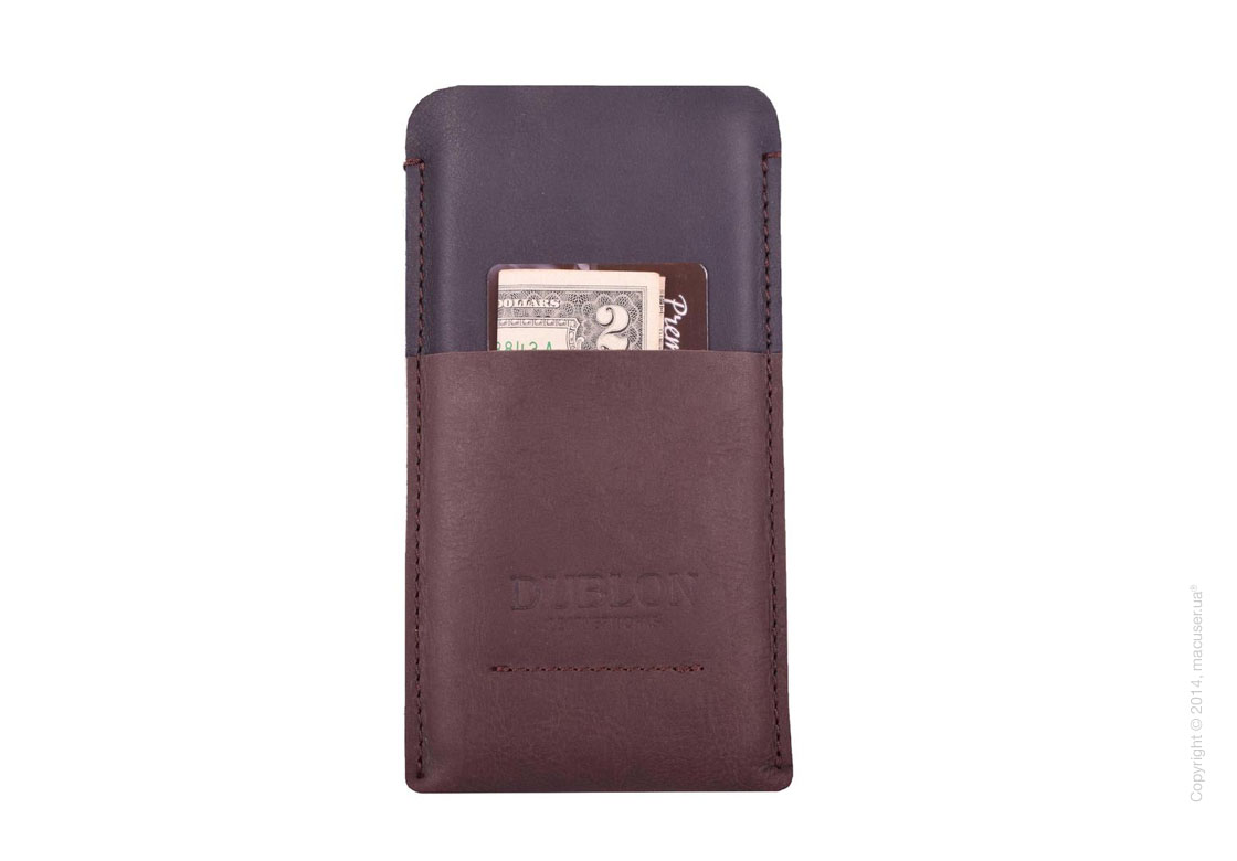 Чехол Dublon Leather Case Britain, Brown для iPhone 6/7/8 Plus