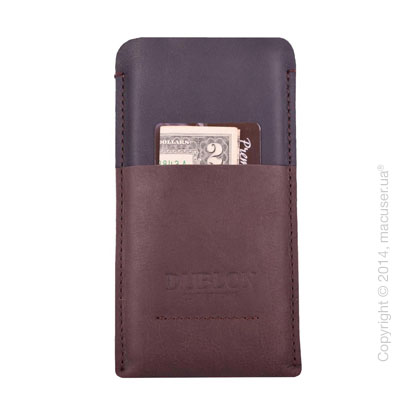 Чехол Dublon Leather Case Britain, Brown для iPhone 6/7/8 Plus